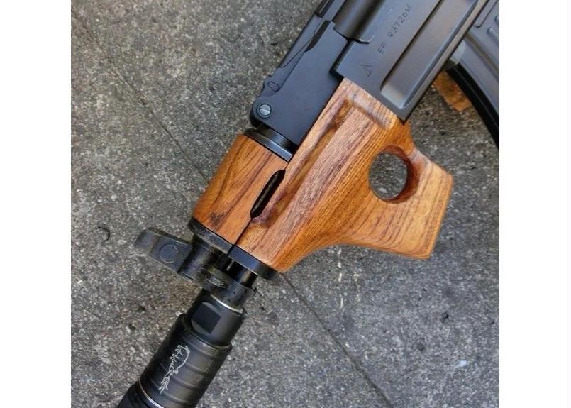 受注 AK47βスペツナズ・AK47HC用サムホールハンドガード製作(角型)