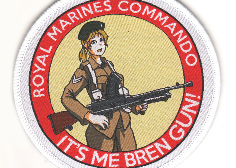Marp IT'S ME BREN GUN!  vercro patch