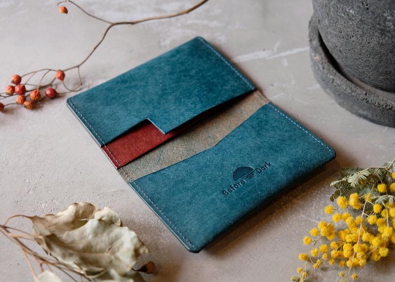 Card Case【 figo 】/ Ortensia x Coccinella