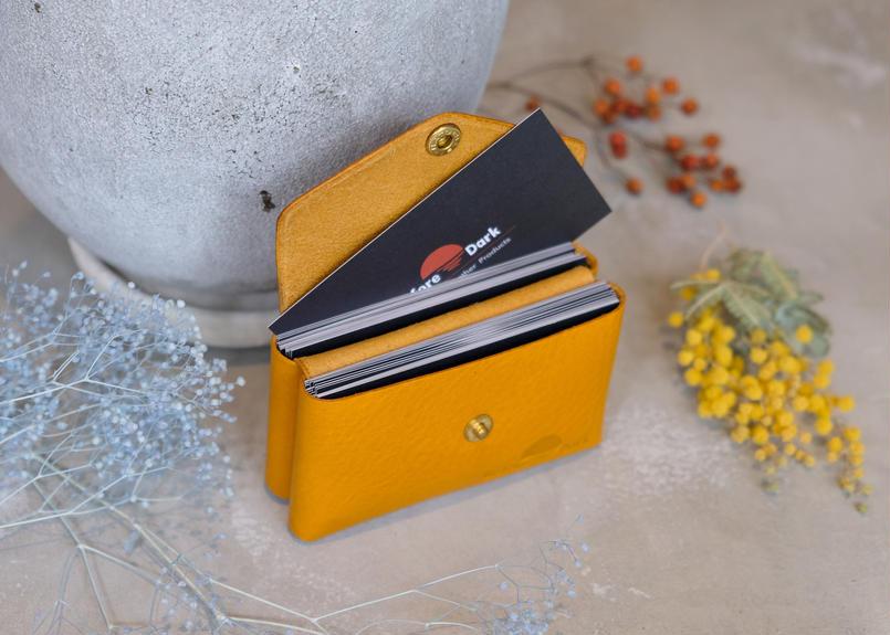 Card Case 【 Talo 】/ Yellow