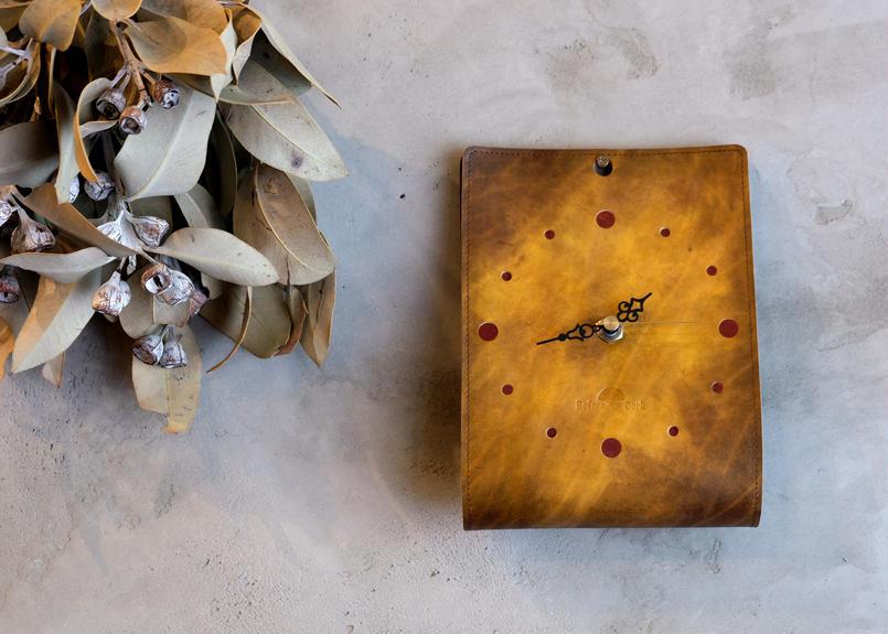 Wall clock 【IL TEMPO】/ #antique brown