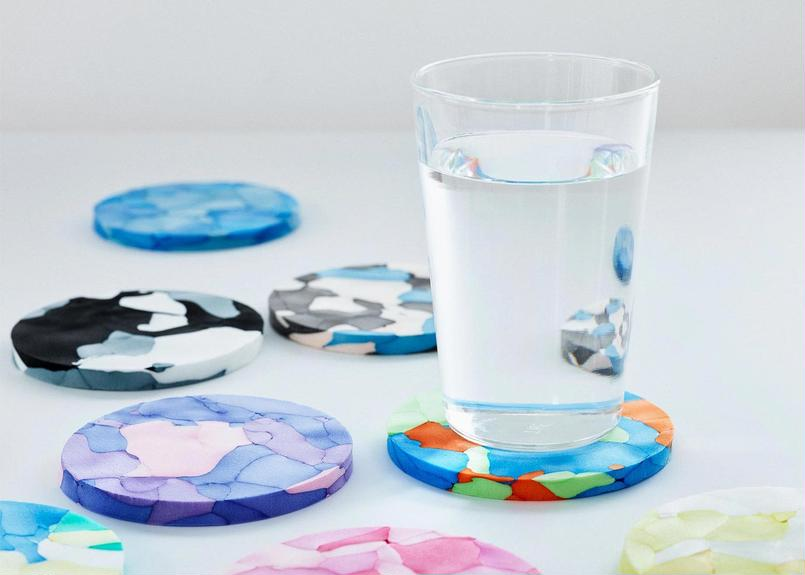 COLOR POLYMOCK® COASTER