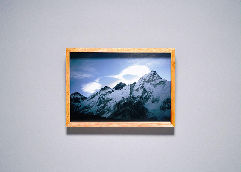 Framed photo by Tabi suru Suzuki No.03 - Everest, Nepal  旅する鈴木 写真作品(S)