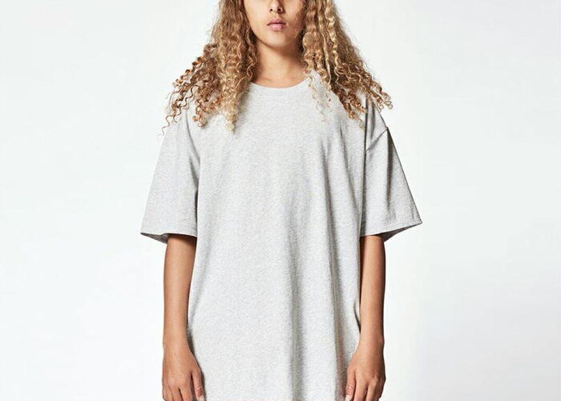 FOG Essentials  Boxy T-shirt  LIGHT HEATHER