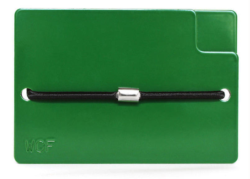 WINTERCHECK FACTORY CONSOLI WALLET GREEN