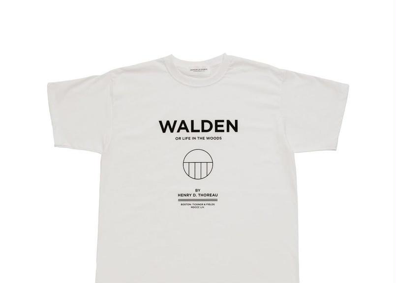 DEMAIN LA SOURCE T-shirts Thoreau White