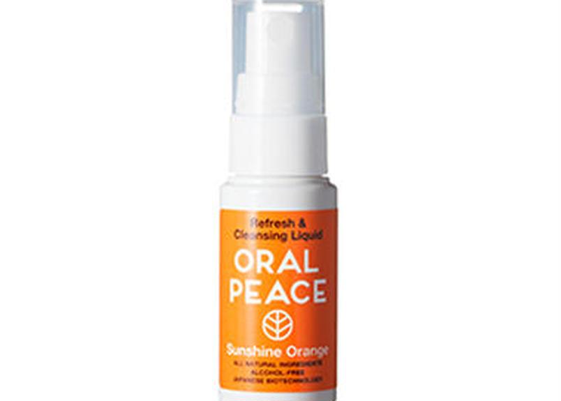 オーラルピース マウススプレー&ウォッシュ (サンシャインオレンジ) / ORAL PEACE