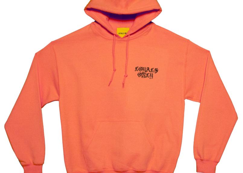 (ロイヤルズ オンリー) LOYALS ONLY  HOTLINE HOODIE safety orange フード パーカ
