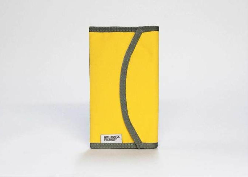 Wintercheck Factory NYLOFOLIO  yellow&Gray