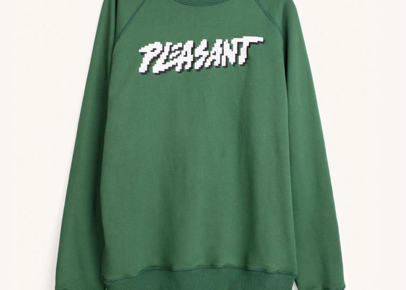 [PLEASANT] PLEASANT PIXEL SWEAT