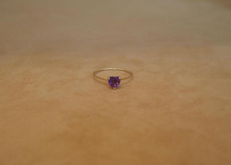 Amethyst Petit Ring(h/s)