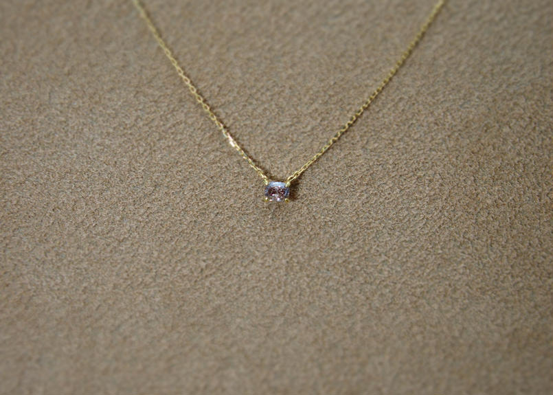 BrownDiamond Petit Necklace(s/q)