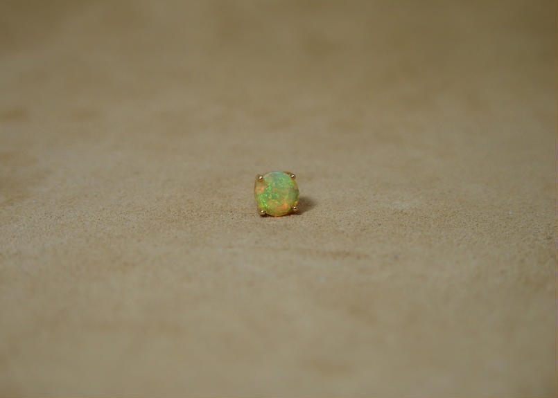 Opal Single Earring(r/c)