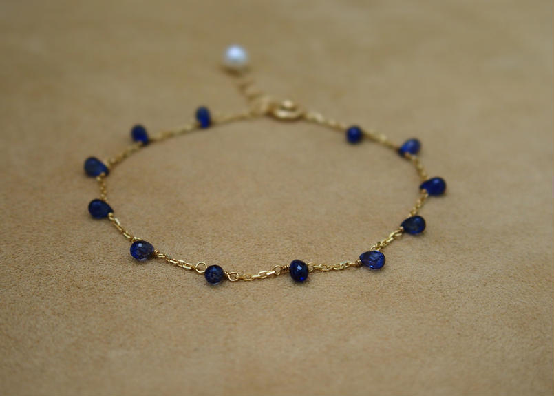 Blue Sapphire Bracelet(d/c)
