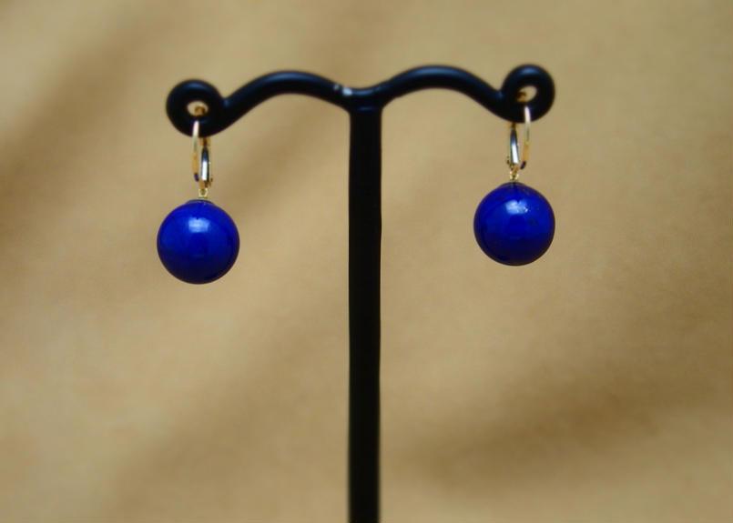 Lapis German Earrings