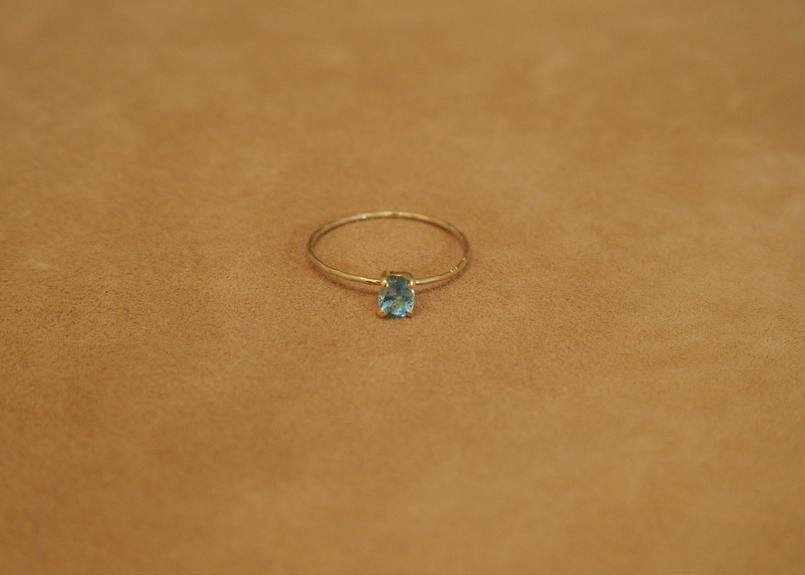 Aquamarine Petit Ring(o/v)