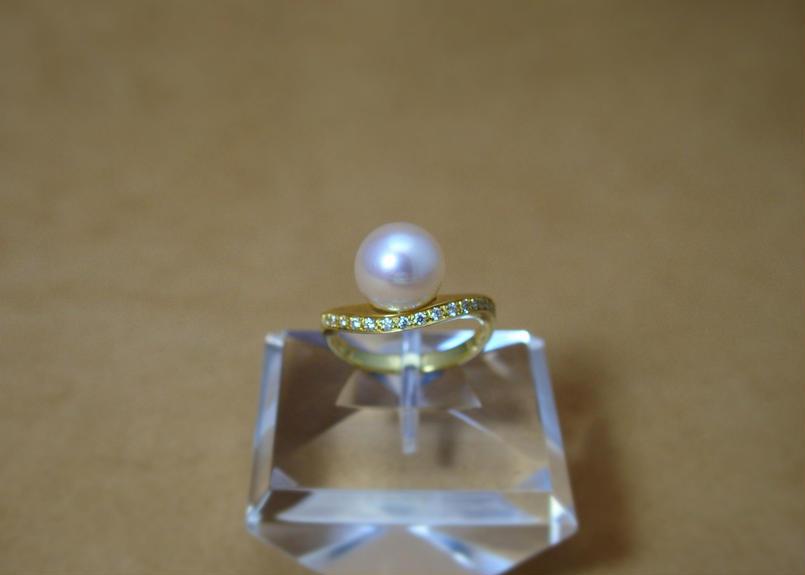 AKOYA Pearl Design Ring(SPICA)