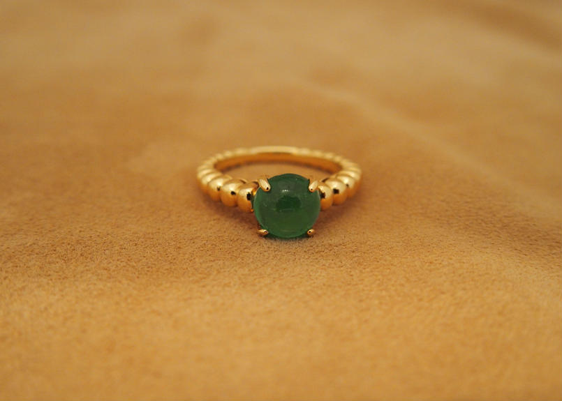 Emerald doux Ring