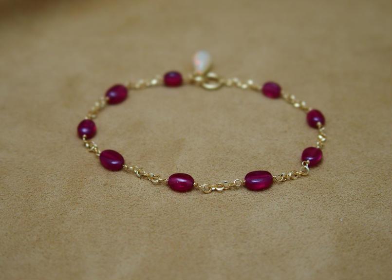 Ruby&Opal Bracelet