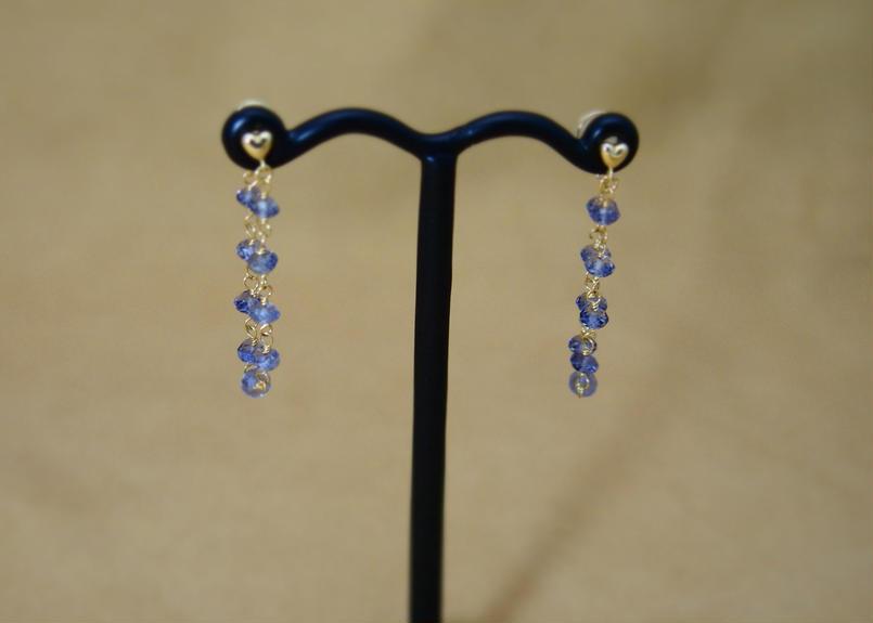 Iolite LooseFoop Earrings(b/c)