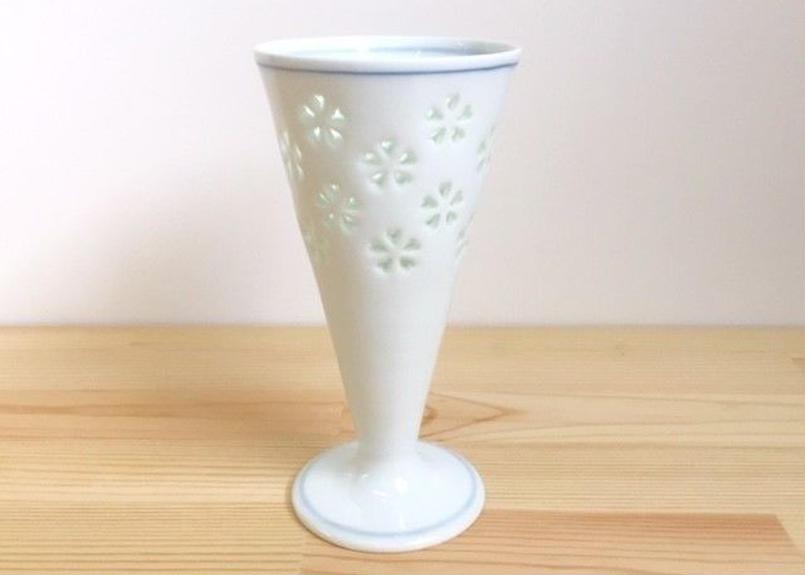 水晶花詰ビールグラス(大)