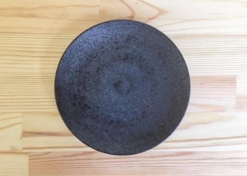 [陶器市] 焼〆丸5寸皿