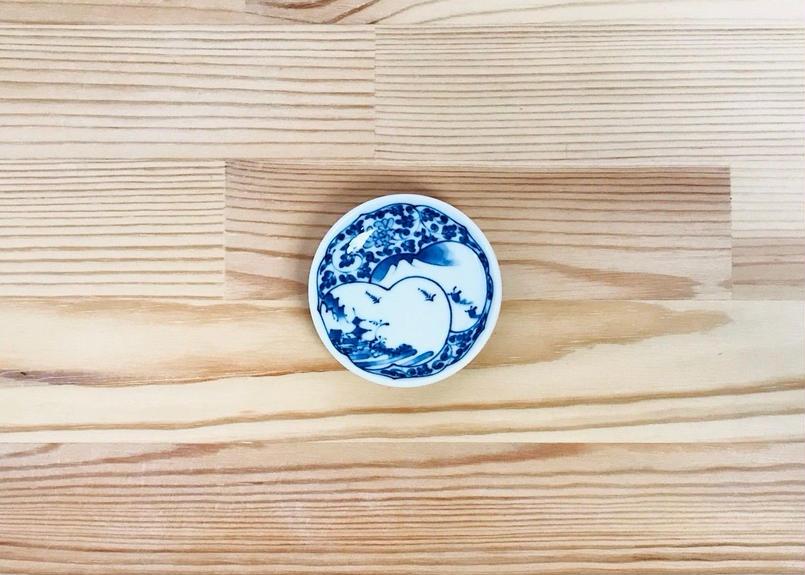間取山水百景姫皿