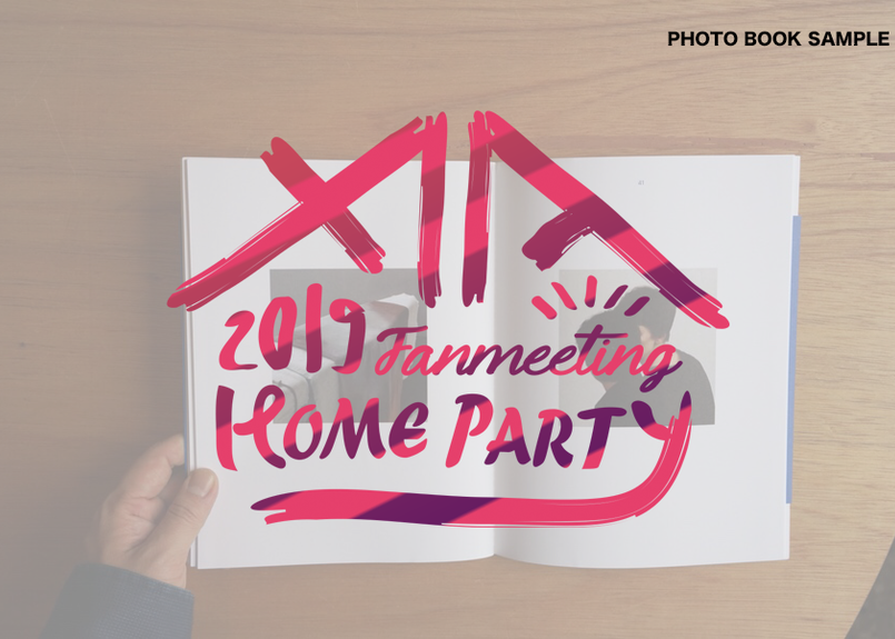 2019 XIA FANMEETING HOMEPARTY 記念 PHOTO BOOK