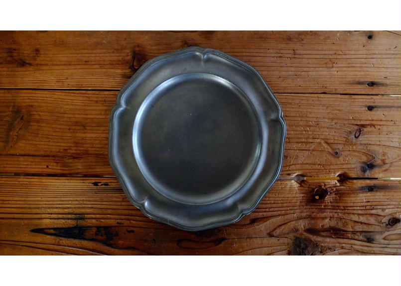 Pewter Plate(France)