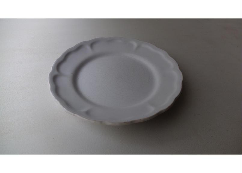 Flower rim plate (France)