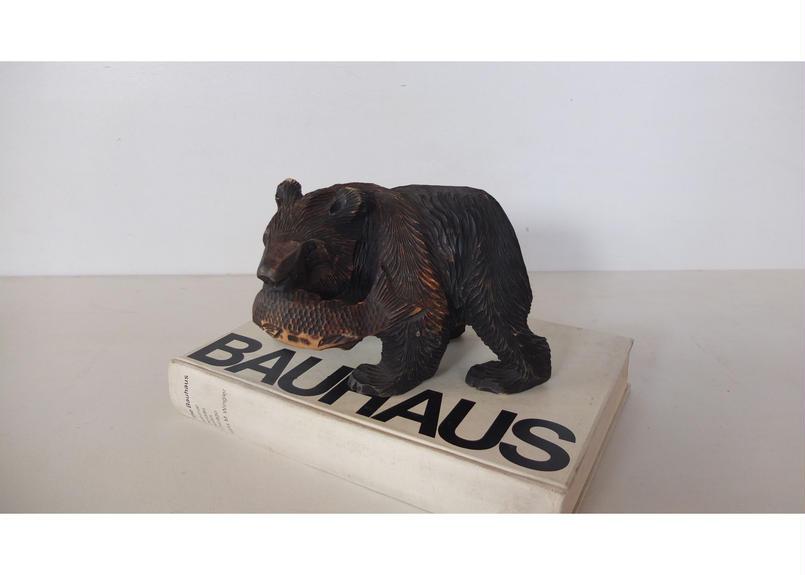 Bear Wood Sculptures (Japan)