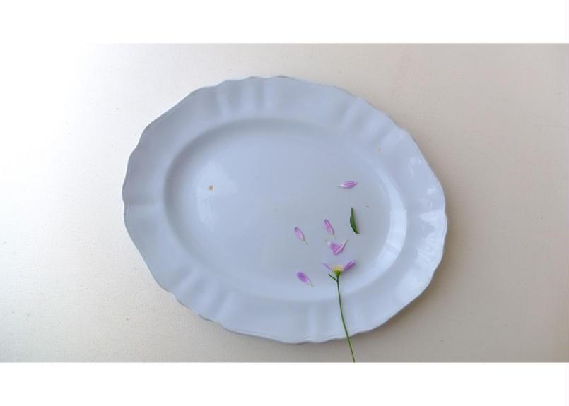 "J&G MEAKIN ""GLAMOUR Celeste"" Plate"