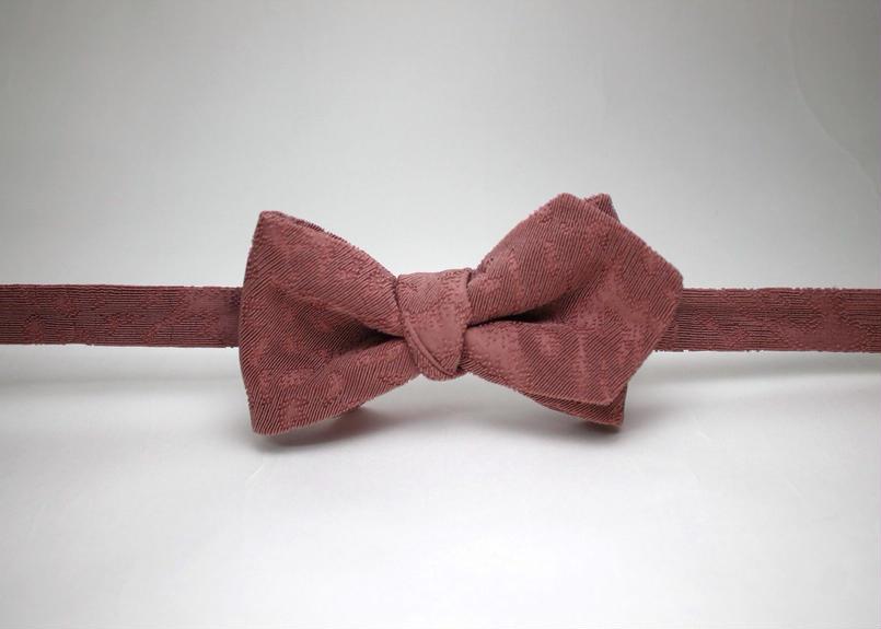 蝶ネクタイ Import fabric フランス製ビンテージファブリック 上京蝶帯 #371