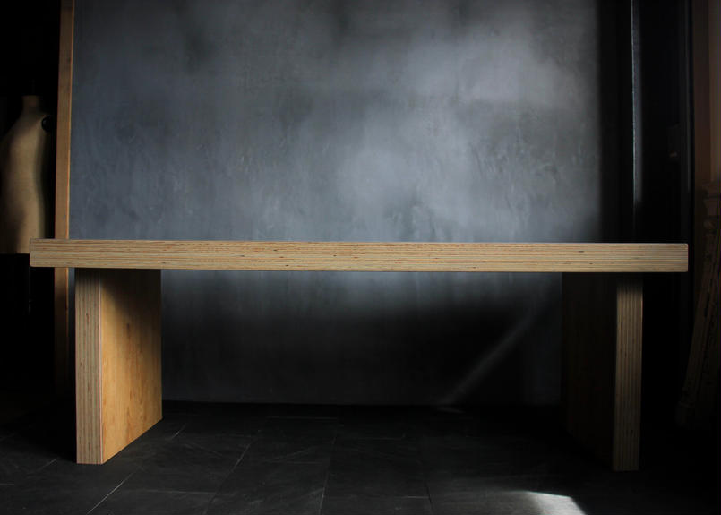 BLA:NC  Millefeuille dining table