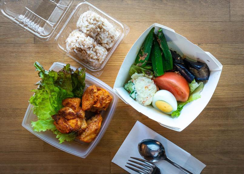 【七縁】Saladタンドリーチキン