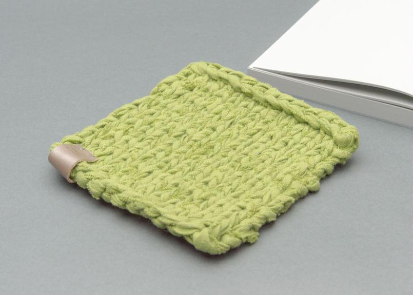 COTTON DISH CLOTH -ライトグリーン