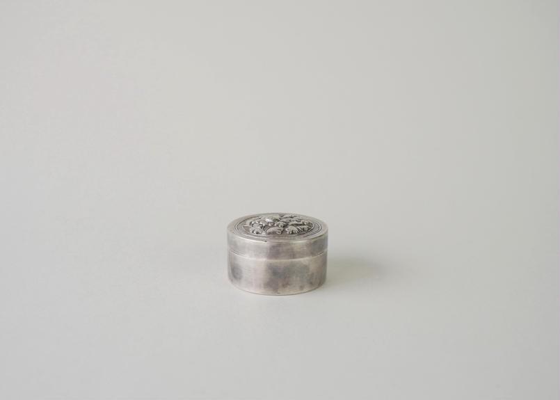 南鐐円筒型蓋物