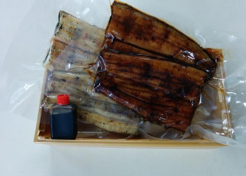 菊屋国産鰻蒲焼白焼セット