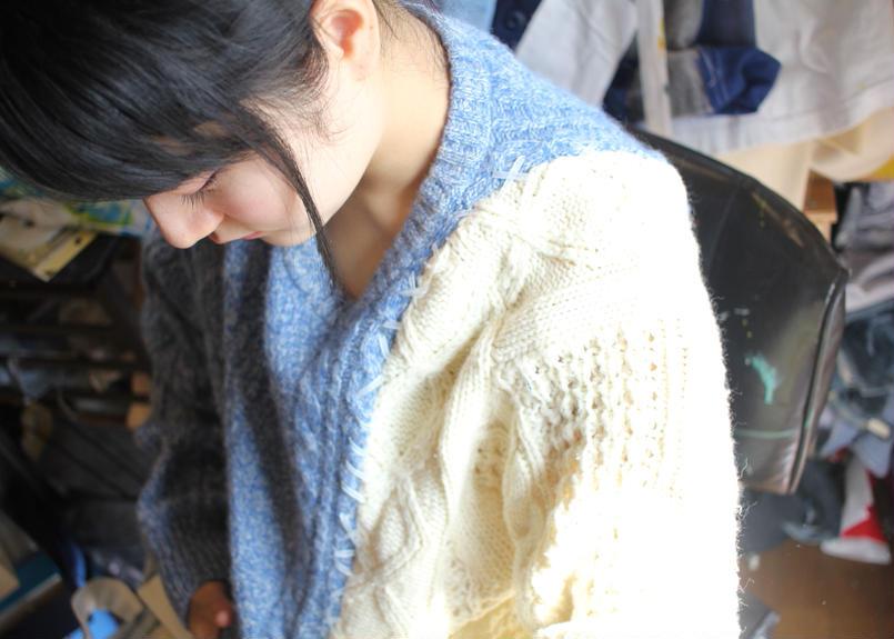 あの日、青かっただけのニット・セーター 氷菓編