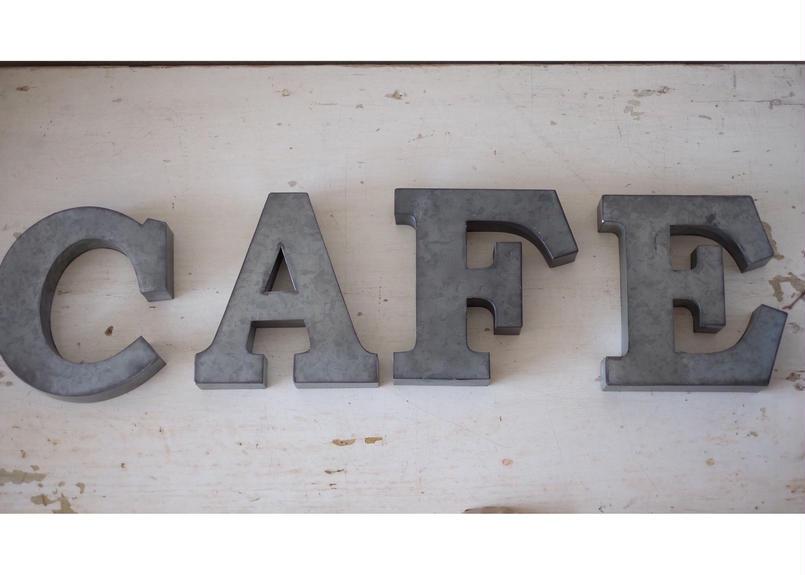 アルファベットオブジェ  CAFE