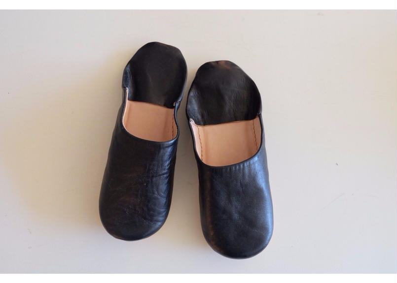 モロッコバブーシュ noir