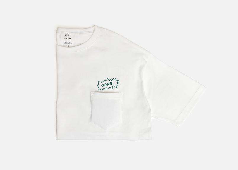 """""""GRRR"""" ポケット Tシャツ"""