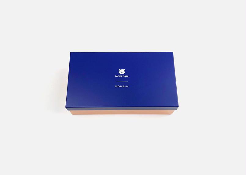 MOHEIM × PAPIER TIGREコラボレーション TIN BOX_M