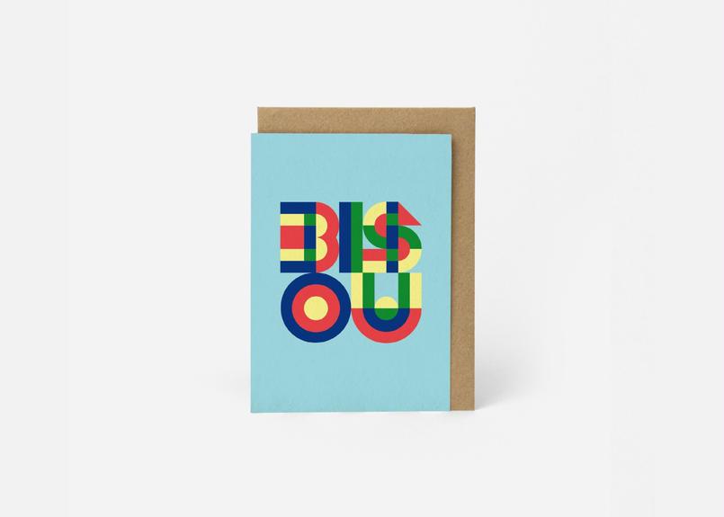 A6サイズ メッセージカード / BISOU MINT