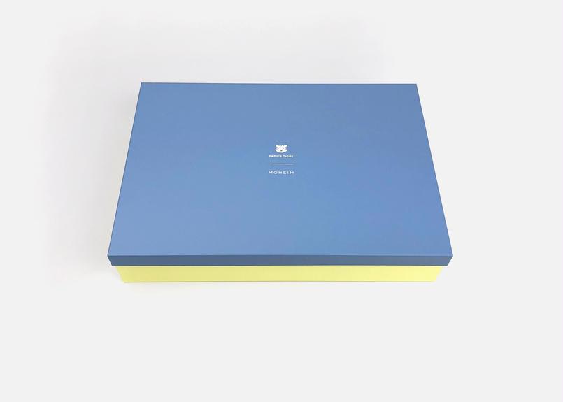 MOHEIM × PAPIER TIGRE コラボレーション TIN BOX_L
