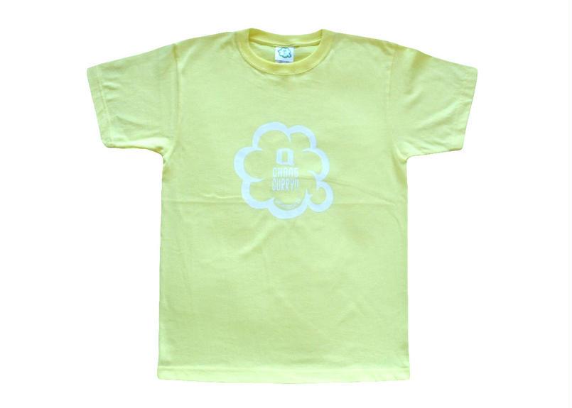 キューチャンカレーteeシャツ(レモンイエロー)
