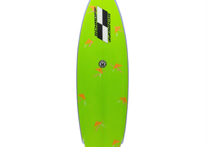 """6'0""""  Circa 80's HIGH PERFORMANCE  """"Sally"""" Air brushed & Hand shaped by Peter Schroff"""