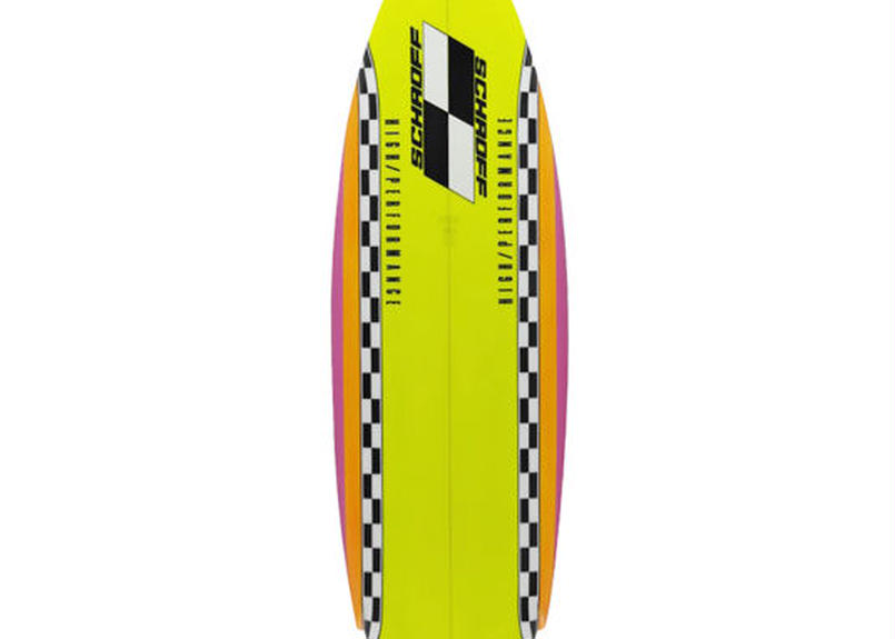 """5'6"""" HIGH  PERFORMANCE   """"Karen""""  Air brushed & Hand shaped by Peter Schroff"""