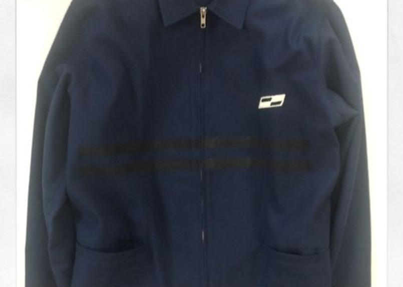 COMPETITION  JACKET  Basket weave cotton LIMITED EDITION NAVY