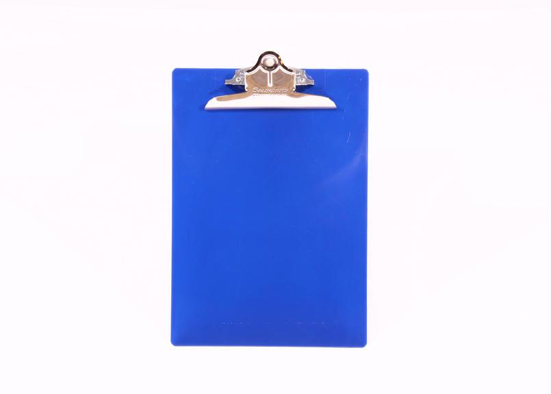 プラスチック(A4サイズ クリップボード) - ブルー